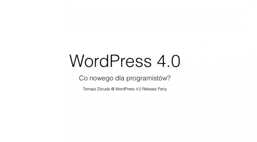 wordpress-40-zmiany-dla-programistow