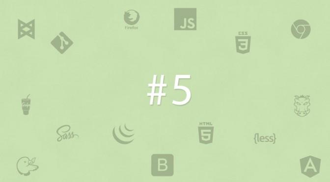 Własne alerty, responsywne wykresy, materiały o SVG – Front-endowe Inspiracje #5