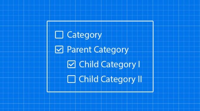 Własna kontrolka wyboru kategorii