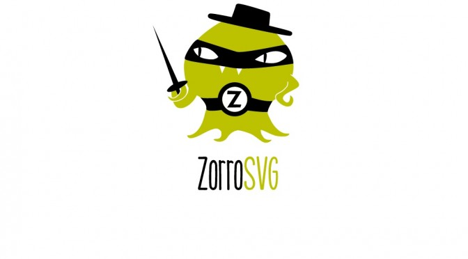 Zorro SVG – alternatywa dla PNG