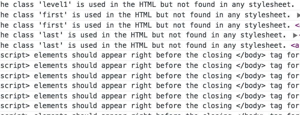 html-inspector