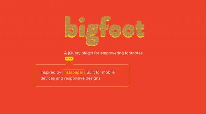 WP-Bigfoot – eleganckie przypisy