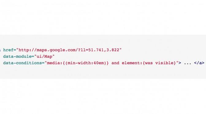 conditioner.js – moduły JS wczytywane warunkowo i zależnie od środowiska