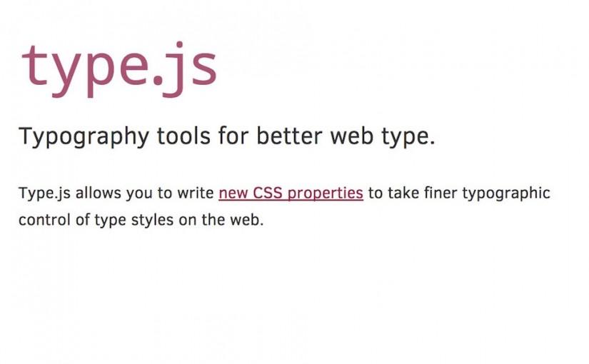 type.js – dodatkowe właściwości CSS dla tekstu